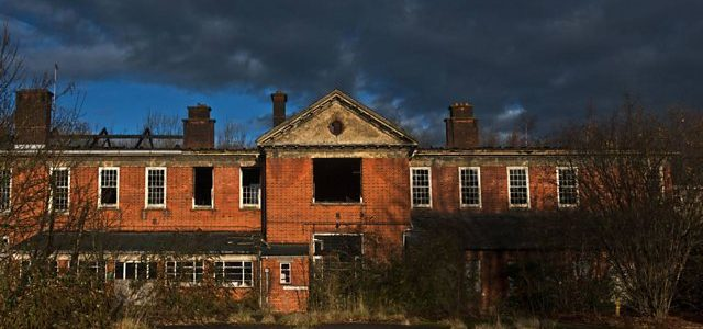 Derelict Institutional Home in the UK