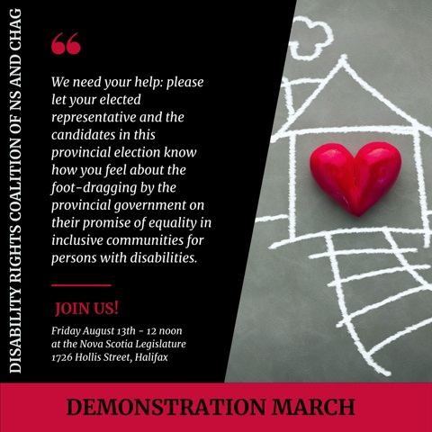 Demonstration March poster